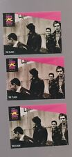 Lot of 3 identical The Clash rock band trading cards Pub. early 1990s Musicards