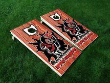 Vinyl Wraps Cornhole Board Decals Ohio State 10 Buckeyes Osu Bag Game Stickers