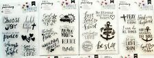 Bible Journaling Religious Stamps or Journal Stencils - Pick 1 of 3 Sets! NEW!