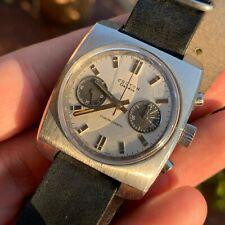 Orologio Watch Croton Chronograph Diver Valjoux 7733 Vintage Swiss Made