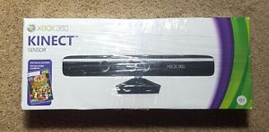 Microsoft XBox360 Kinect Black Motion Camera Sensor Bar Adventures Bundle New
