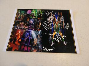 JOHN DIVA & THE ROCKETS OF LOVE: ORIGINAL SIGNED PHOTO-CARD, TOP, RAREST!!