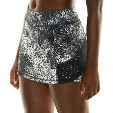 ANIMAL PRINT TEK GEAR TENNIS SWIM SKIRT + SHORTS SKORT SIZE 16 - 18 XLARGE NWT