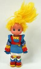 "Rainbow Brite 4 1/2"" 1983 Figure Pvc Body, Yarn Hair, Cloth Clothes"