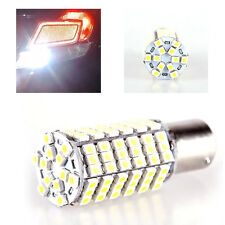 2pc 1156 BA15S Car 120 LED 3528 SMD  Pure White Fog Head Light Lamp Bulb DC 12V