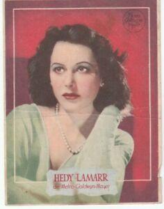Image / programme espagnol—Film «Mujeres en la guerra»—Recto Hedy Lamarr—'40