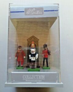 W Britain Collection The London Scene NEW Hand Painted Metal Figures 1989