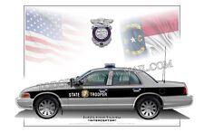 Crown Victoria INTERCEPTOR North Carolina Highway Patrol - Poster Profile