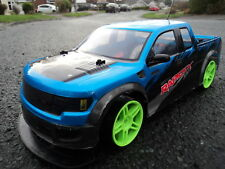 DRIFT 4WD MONSTER TRUCK RAPIDLX RADIO REMOTE CONTROL CAR RECHARGEABLE 1/10