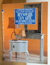 Rinnovare con arte vecchi mobili e oggetti - Pardi, Russo Idà - Fabbri  3420