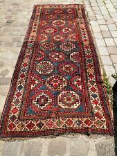 Antique Tapis kazak Moghan caucasian rug. 19th