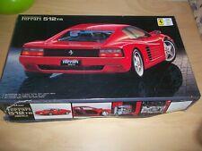 Vintage 1992 Fujimi Ferrari 512 tr model 1/24 Scale