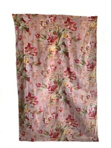 Antique 19th Century French Cotton Floral Fabric (3057)
