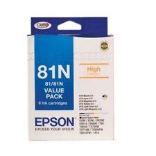Epson 81N C13T111792 6 Color Ink Cartridges