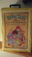 1984 Vintage Baby Doll Cabbage Patch Kids  Outfit Accessory Case