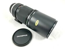 Olympus OM Zuiko 300mm f/4.5 Auto-T Lens + Caps & Hoya UV Filter - Almost Mint!!