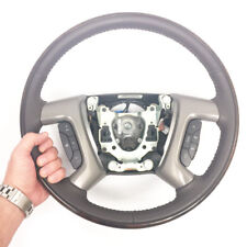 New GM OEM COCO Leather Wood Ring Steering Wheel Cadillac Escalade SUV #20853272