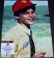 Leonardo DiCaprio BASKETBALL DIARIES Signed Autograph 11x14 Photo GA GV GAI COA!