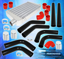 """2.5"""" FMIC PIPING PIPE KIT + TURBO INTERCOOLER + SILICONE COUPLERS + T-BOLT CLAMP"""