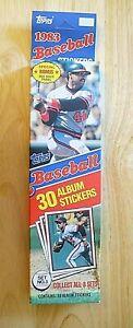 MLB - Topps 1983 - Set No. 3 - 30 Baseball Album Stickers (M. Schmidt) - NEW