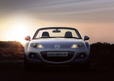 2013 MAZDA MX5 ROADSTER NEW A2 CANVAS GICLEE ART PRINT POSTER FRAMED
