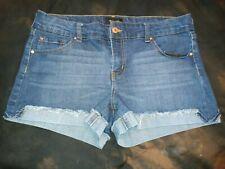 Celebrity Pink Women Cuffed Blue Jeans Stretch Short size11/30