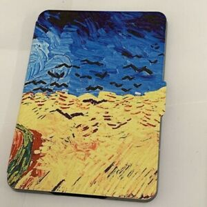 Wheatfield with Crows Thin PU Leather Case Cover Amazon Kindle (8th gen)