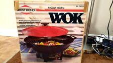 Vintage 1988 West Bend 6 Quart Electric Wok Excellent without LID