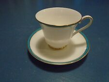 Minton Saturn Turquoise Sets of Cups and Saucers