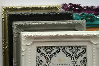 Photo Frame Ornate Shabby Chic Vintage Antique French Baroque Style Home Decor