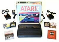 Atari 2600 Video Game Console, Complete with 1- Brand New Controller, Tested