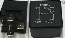 5 Pin Relay 12V 40A Cable Current Protection Heavy Duty Starter On/Off Switch