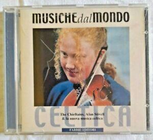 MUSICHE DAL MONDO Celtica Musica CD FABBRI 2000
