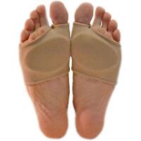 2x Ball Of Foot Gel Pads Cushions Forefoot Metatarsal Hard Skin Mortons Neuroma