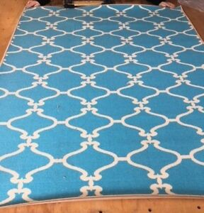 Save Big on Quality New Area Rugs - Moroccan Trellis Lattice Area Rug 5x7