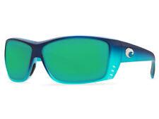 NEW Costa Del Mar CAT CAY Matte Caribbean Fade & 580 Green Mirror Glass 580G