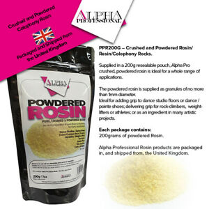 PPR200g – Powdered Rosin / Crushed Powder Resin Colophony.