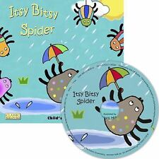 Classic Books with Holes 8x8 with CD: Itsy Bitsy Spider by Child's Play Staff...
