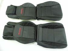 1986.5-1992 Toyota Supra MK3 / MKIII Replacement Leather Seat Covers Black