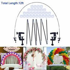 Balloon Arch Kit Fiber Column Stand Base Frame Set Birthday Wedding Party Decor