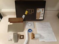POP Single Function Shower Trim Kit with Rough-in Valve (Chrome, Open Box New)