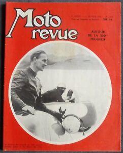 MOTO REVUE  N° 1376 - 1 Février 1958