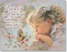 LEANIN TREE Each Day a Gift from the Lord #35379~Pk of 8 Notecards~Blank Inside~