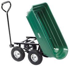 Draper giardino Tipper carrello 75L con benna ribaltabile 58553