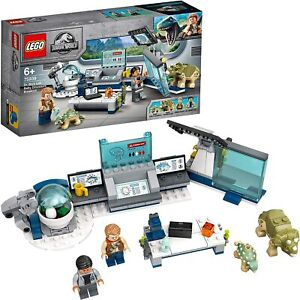 75939 LEGO Jurassic World Baby Dinosaur Lab Breakout