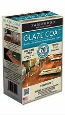 Eclectic 5050080 Qt Famowood Glaze Coat, Clear Famo Wood clear high gloss epoxy