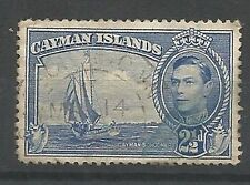 Single George VI (1936-1952) Caymanian Stamps