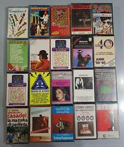 LOTTO 20 CASSETTE MUSICALI