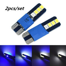 2 x White/Blue LED T10 2825 8-SMD Map Dome License Plate Light Bulbs 31MM*10MM