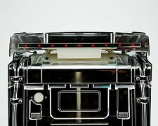 Dachspoiler Edelstahl LED Licht Leuchte rot für Tamiya Scania HIGHLINE 1:14